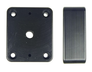 Brodit Distance Mounting Plate 42x50x19/AMPS