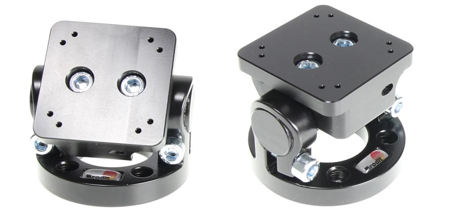 Pedestal Mount Top Part with 180° turnaround, with AMPSscrew