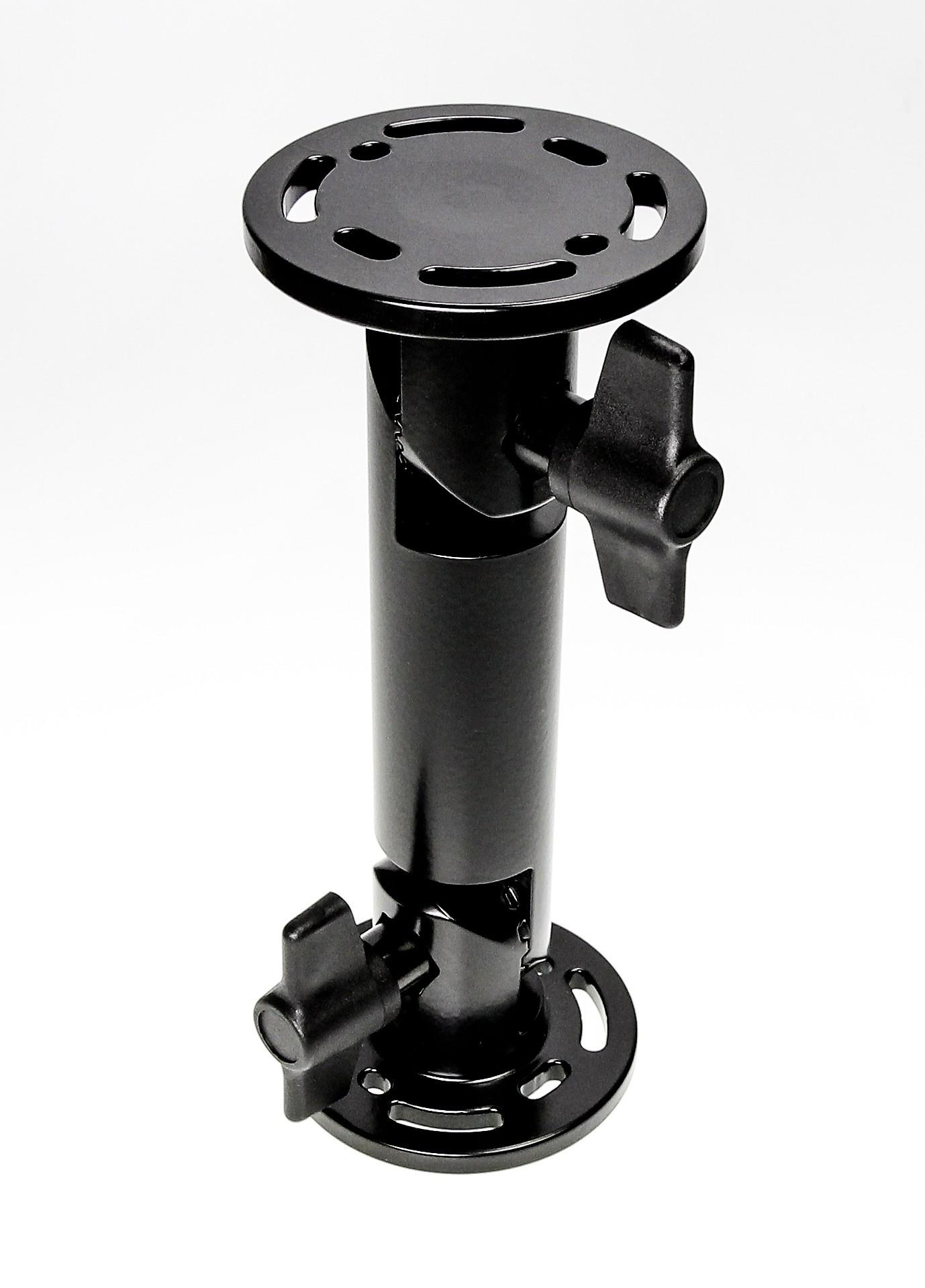 "Pedestal mount 8"", round base 64mm-small teeth-90° offset"