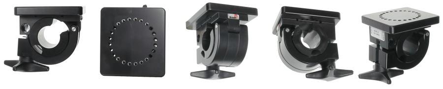 Brodit houder buismontage 25mm met bevestigingsplaat