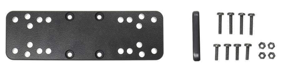 Brodit Mounting plate voor Sonar 160x50x7 AMPS