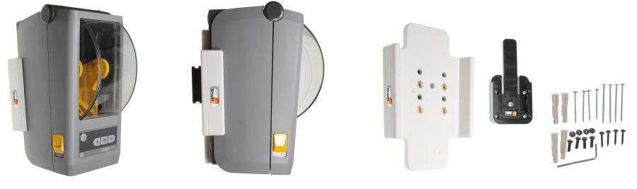 Brodit houder Zebra ZD410 (wit) met MultiMoveClip