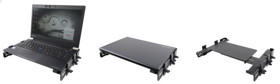 Brodit verstelbare laptop houder-283-384/ 25mm-back support