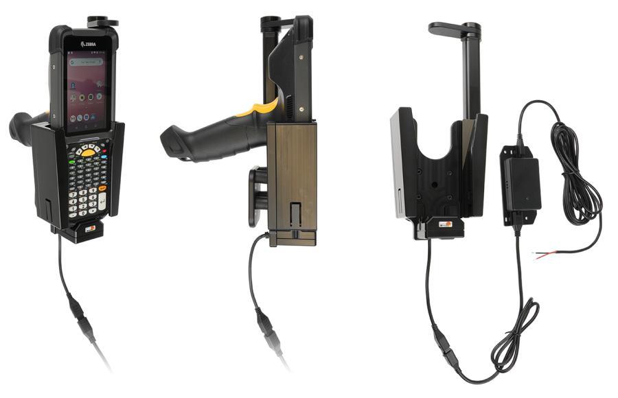 Brodit houder-lader Zebra MC9300 Swiveling top- fixed instal
