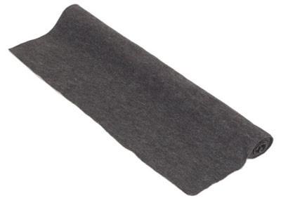 Akoest. stof, polyester 250gr/m² ANTHRACITE 150x70 cm