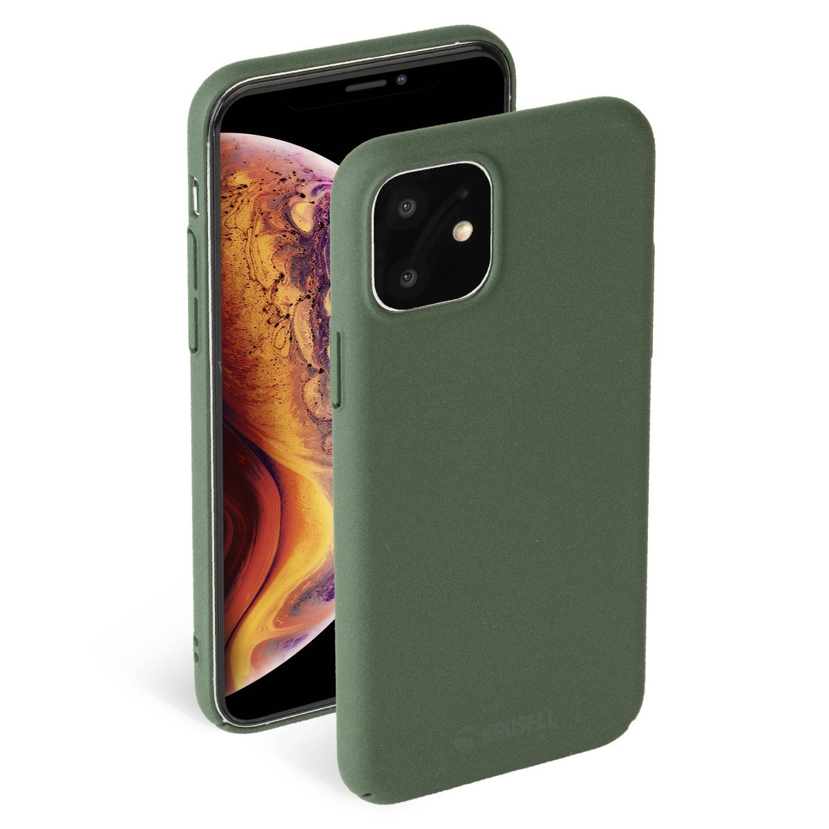 Krusell Sandby Cover Apple iPhone 11 - Moss