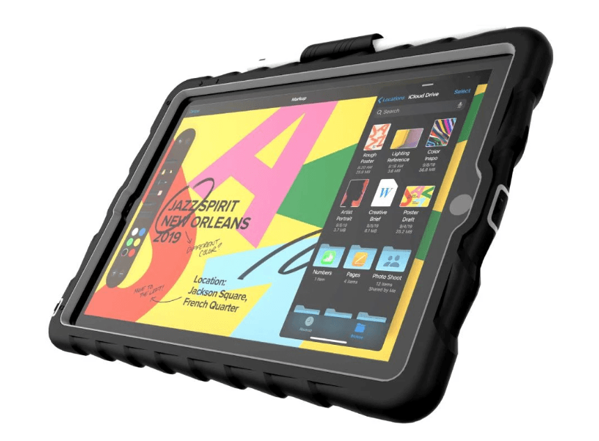 "Gumdrop Drop Hideaway w. Stand Apple iPad 10,2"" (2019) Black"