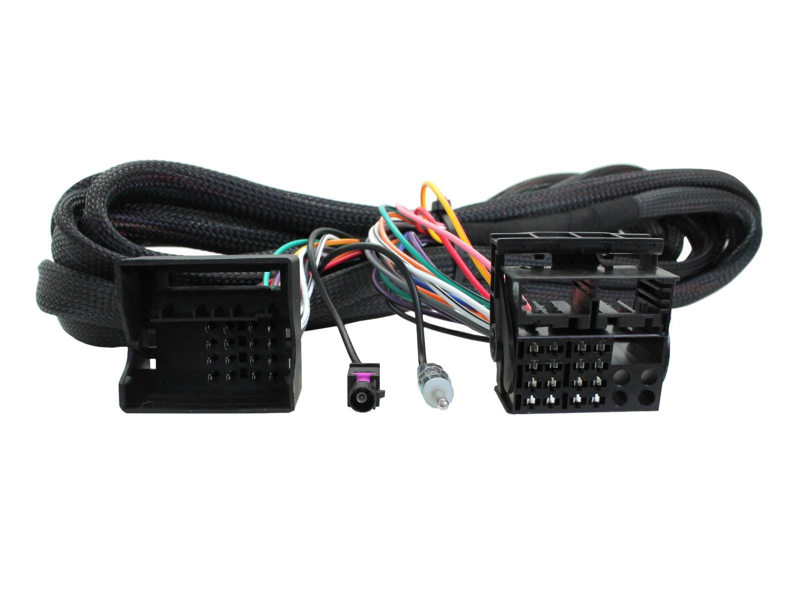 Quadlock verlengkabel 6.5m + antenne verloop BMW 3/5/X5