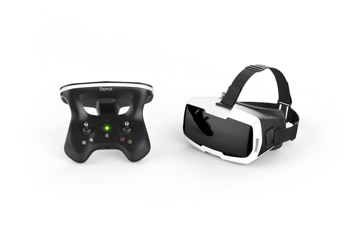 Parrot Pack compact- skycontroller + Glasses