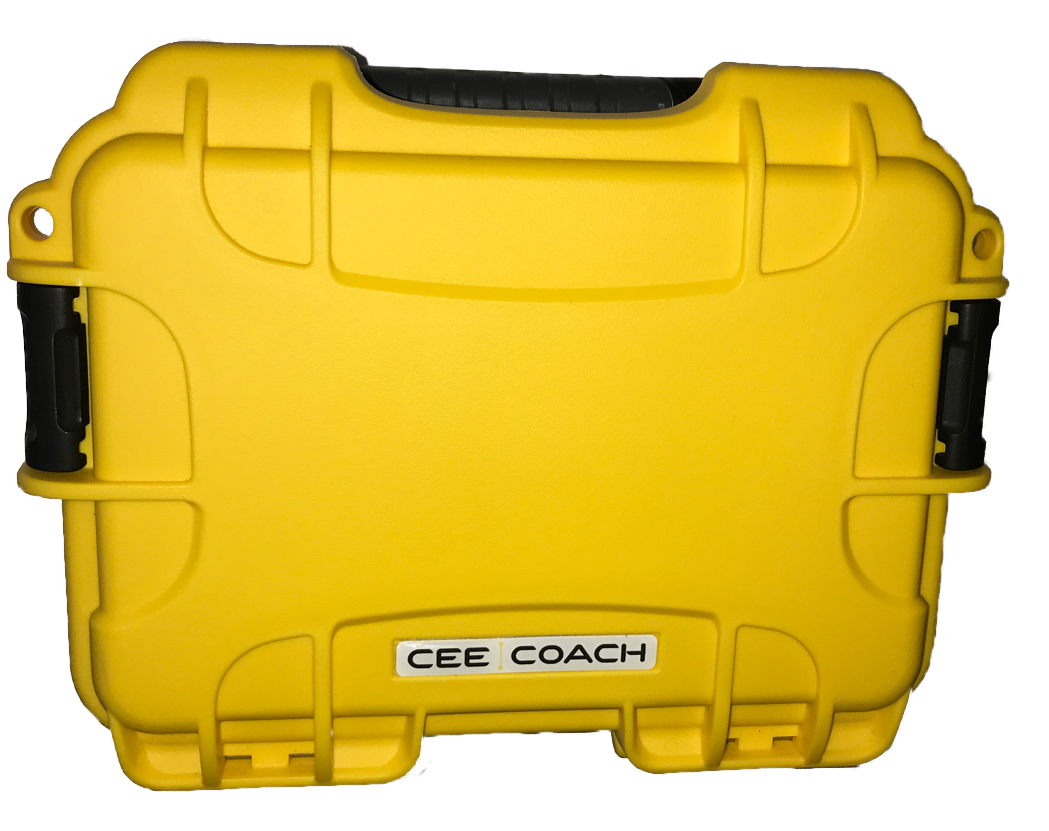 CEECOACH hard-case voor 2 units en accessories Geel