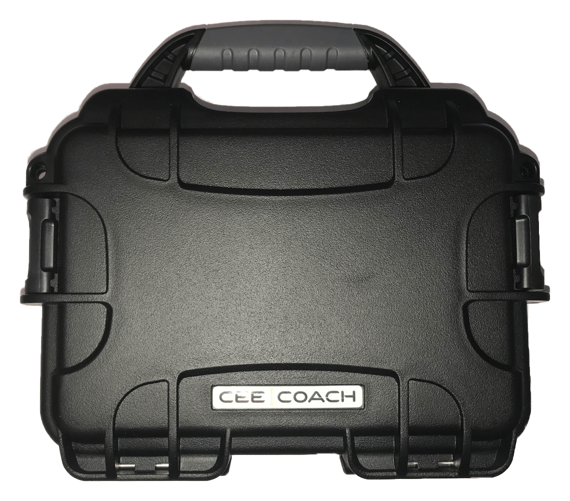 CEECOACH hard-case voor 2 units en accessories Zwart