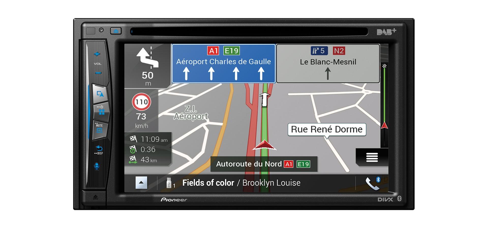 """Pioneer AVIC-Z730DAB  6.2"""" Multimedia Nav. Receiver"""