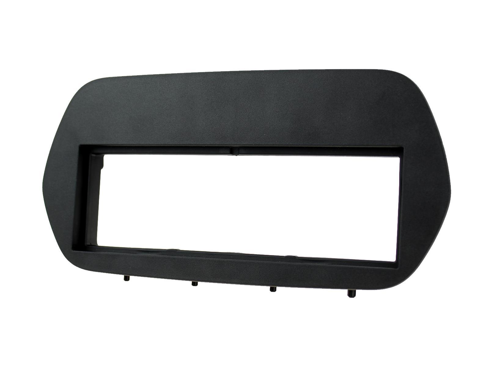 1-DIN frame Ford Fiesta 2018 -  met oem Sync3 zwart