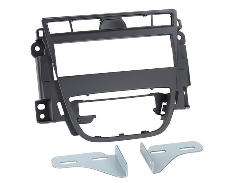 1-DIN frame OPEL Meriva B 06/2010 - Zwart