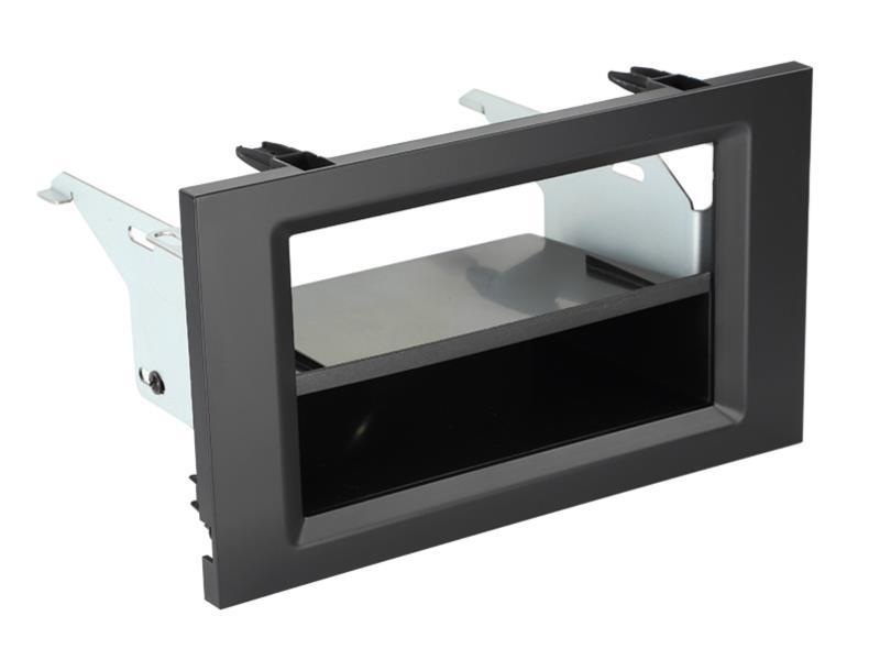 2-DIN frame met bakje MB Actros (MP4/BM963)2011- Zwart