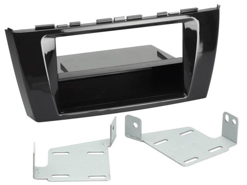 2-DIN frame met bakje Mitsubishi Space Star 02/2013 -> PB