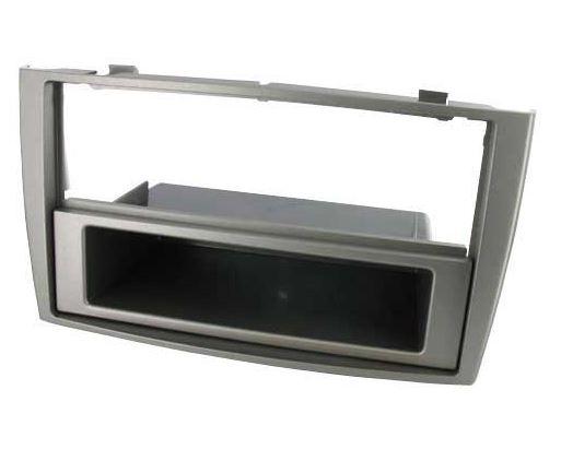 2-DIN frame met bakje Peugeot 308 2008- donker grijs