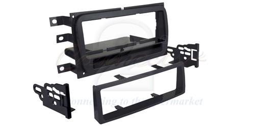 2-DIN frame met bakje Suzuki Liana 2005-2007 Zwart