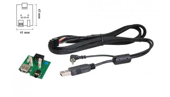 USB Retention Hyundai i10/i20/i40/ Kia Picanto/Sportage/Rio