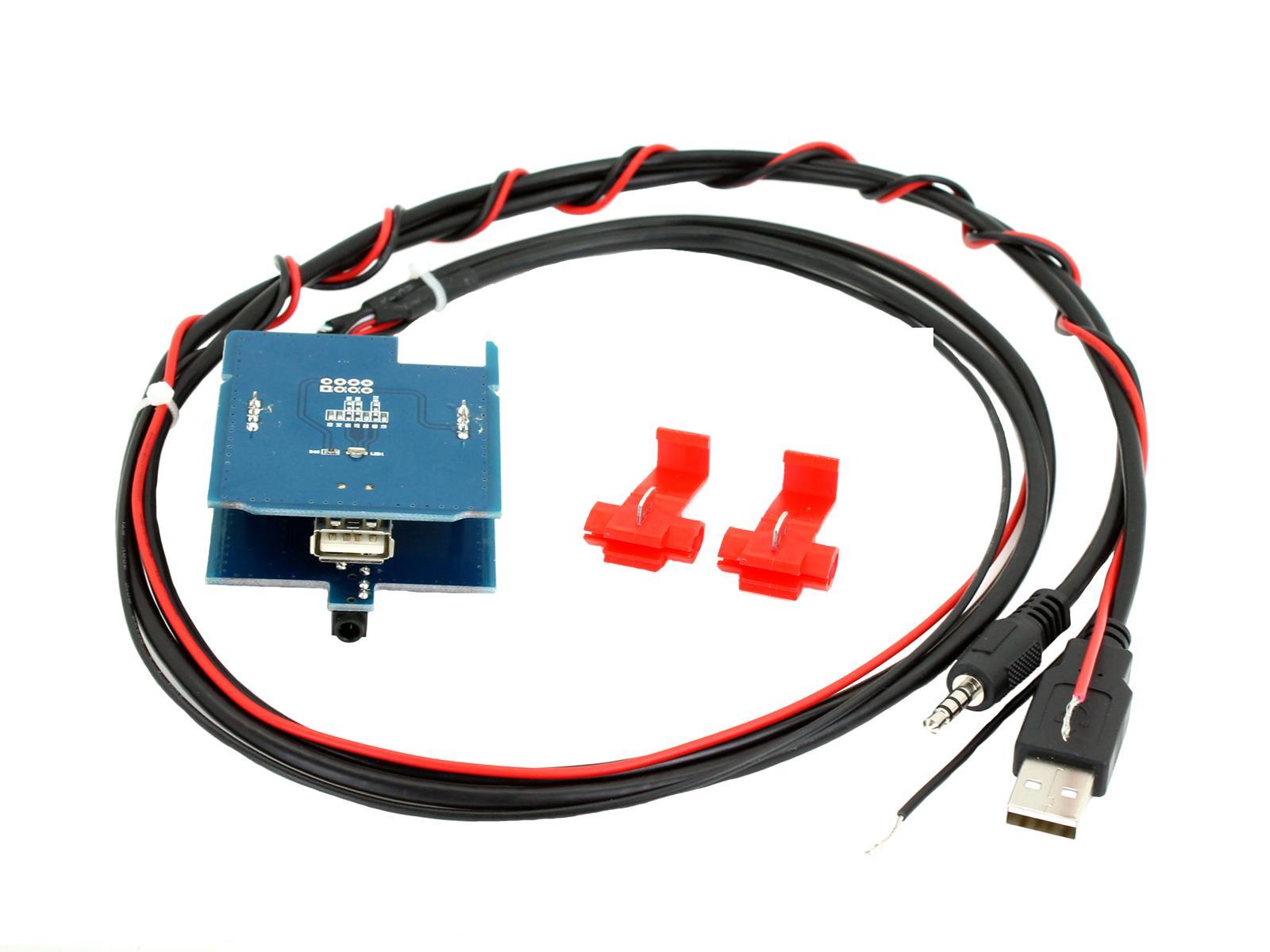 USB/AUX vervanging OEM PCB Jeep Renegade 2015-