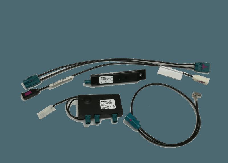 FM/DAB+ splitter set t.b.v. Alpine Golf 7 & Octavia 3