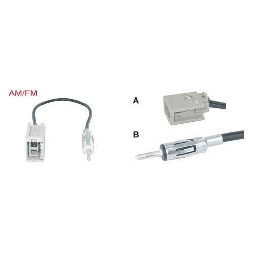 adapterkabel 15 cm GT-5 M - DIN M Volvo V70/XC90/F-Reeks