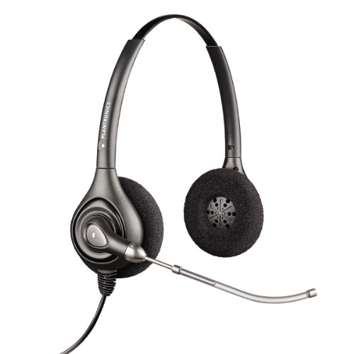 Plantronics Supra plus HW261N binaural noise cancelling