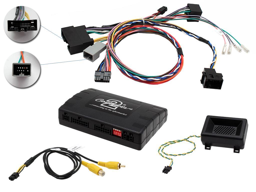 """Infoadapter met stuurbediening Landrover Evoque 5"""" 2011-2015"""