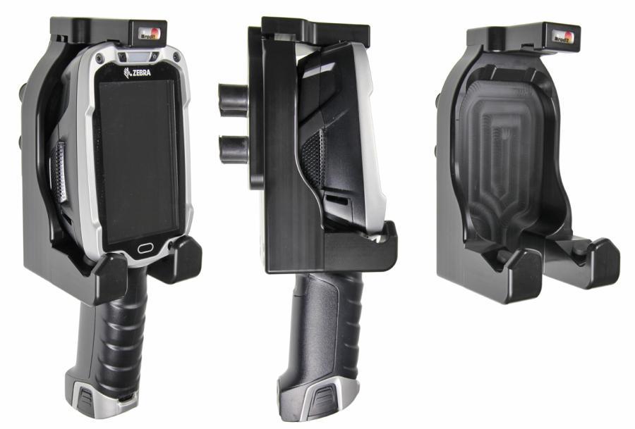Brodit houder Zebra TC8000-rubber dempers