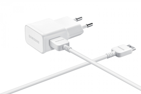 Reislader 230V Samsung EP-TA10EWE Micro USB kabel 2A WIT