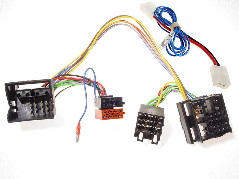 ISO2CAR mute adaptor Saab 9.3 / 2003-