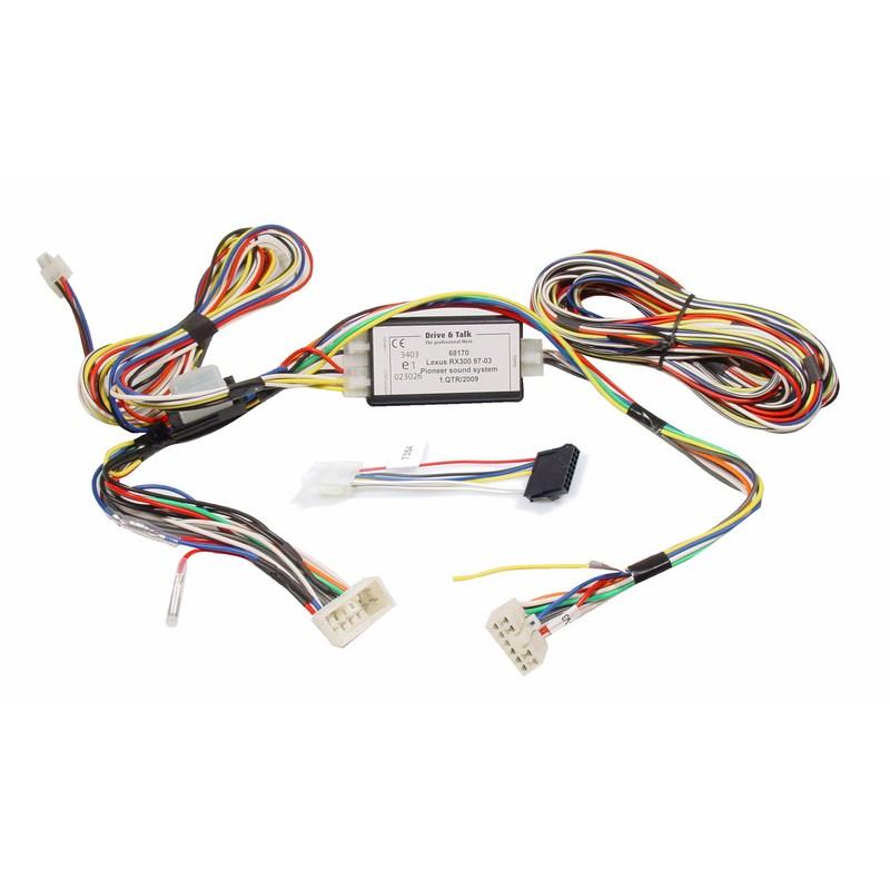 Kram Mute Lexus RX 300 97-03 met Pioneer kabel 2G/3G