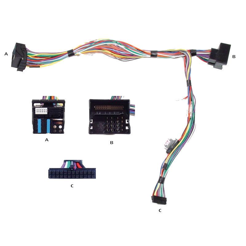 Kram Audio2Car VW 2010- 40 pin Delta / RNS Navi / MFD N