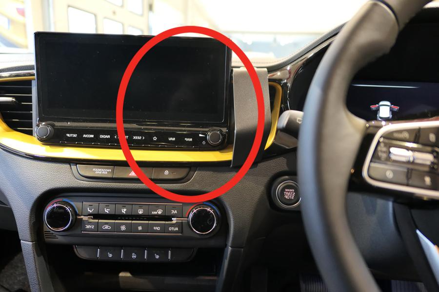 """Proclip Kia Ceed 19- ONLY for 8.2+10.2""""display- Center RHD"""