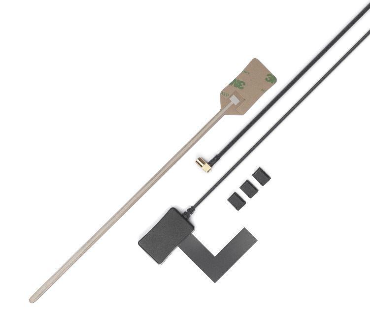 Antenne DAB+ Tiny Audio AD01 binnenruit plak SMB F