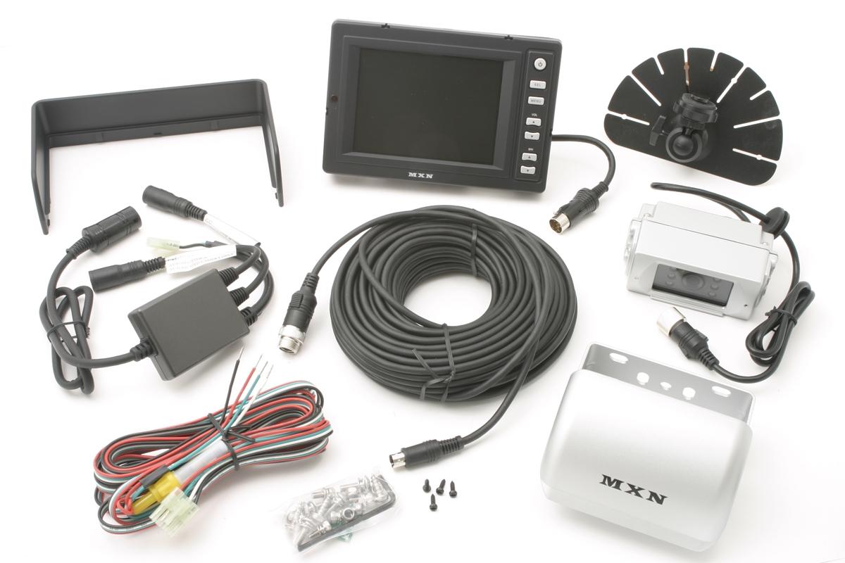 "MXN 5091B 5"" B/W  rearview system"