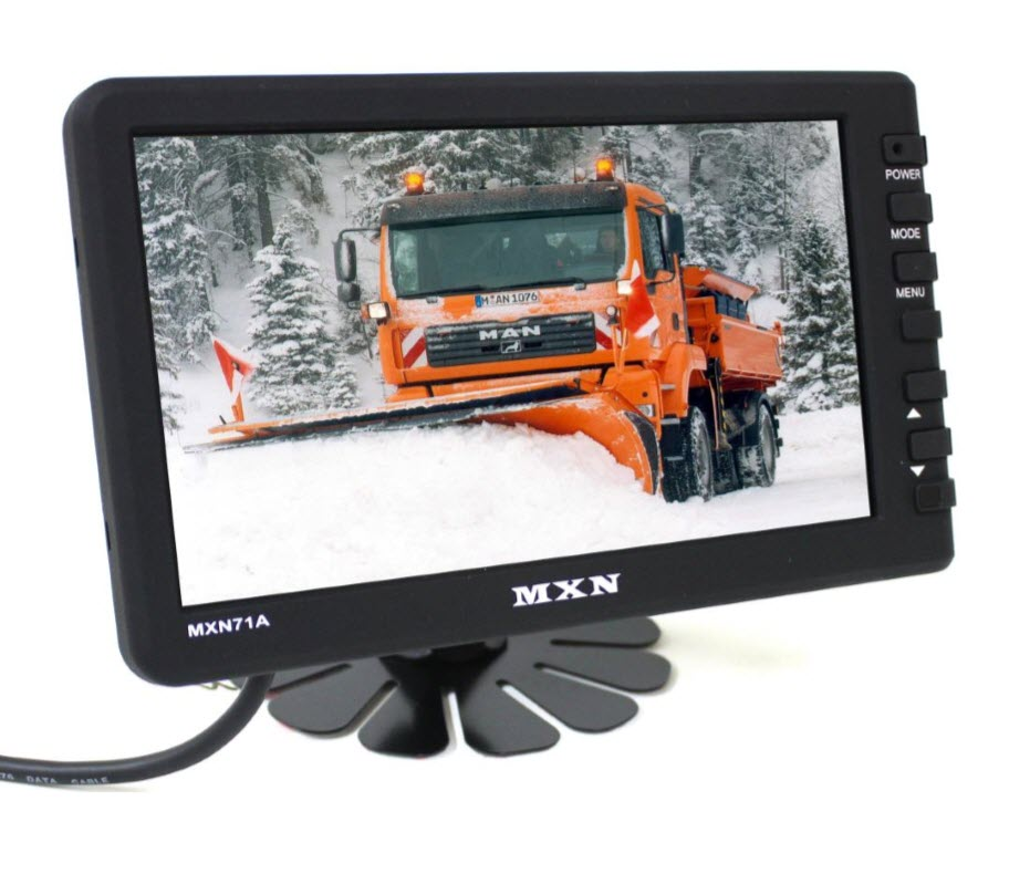 "MXN 7"" Digital 1 Channel LCD Monitor"