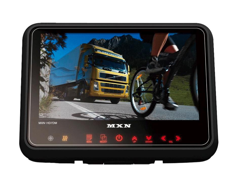 """MXN 7""""  Heavy Duty Touch Monitor IP69K + heating"""