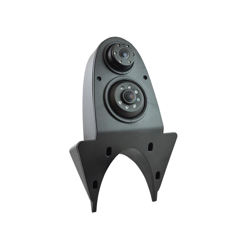 m-use opbouw camera Dual lens NTSC 4-pin IP68