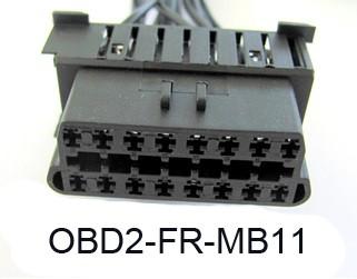 Plug & Play kabel Mercedes tbv Firewall OBD2 Module