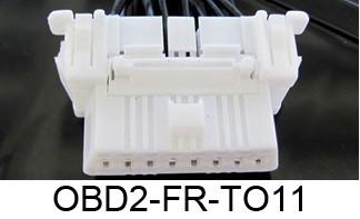 Plug & Play kabel Toyota tbv Firewall OBD2 Module