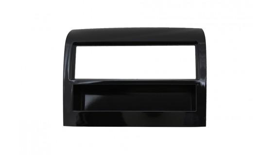 2-DIN frame met bakje Fiat Ducato 2014-> Piano zwart