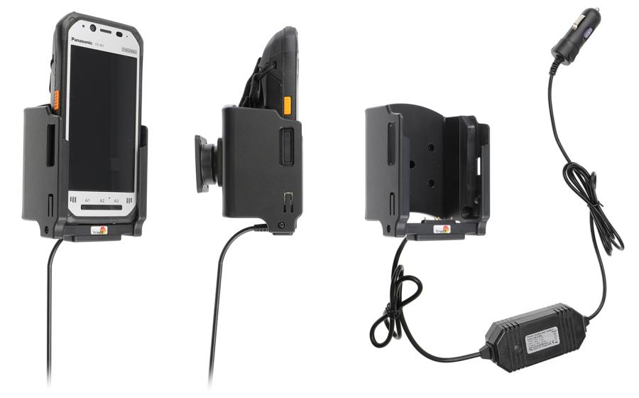 Brodit houder/lader Panasonic FZ-N1 sig.plug - 2.5A