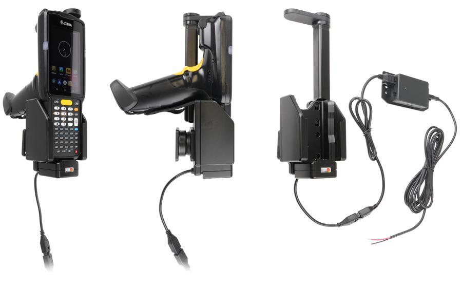 Brodit houder/lader Zebra MC3300 fixed instal.-swiveling top
