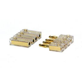 Luidspreker conn. 2 x pos. + 2 x neg. 15-40 mm²