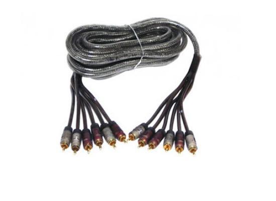 RCA male -male  kabel 6-polig  L = 500 cm