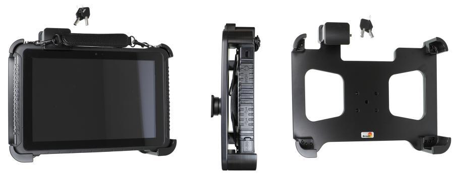 Brodit houder Logic Instrument K101 G2 met SLOT - 2 sleutels