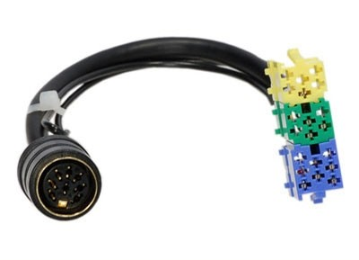 Passieve low levelkabel BECKER Mini ISO 20-pin > 8-pin DIN