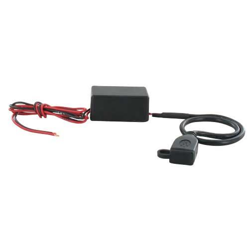 USB 2.0 voltage adapter F - 12V --> 5 Volt - 30cm kabel