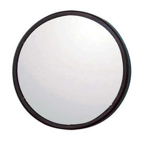 Dodehoek spiegel Ø 50 mm zelfklevend bol